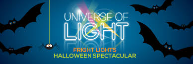 universe of light fright lights halloween spectacular