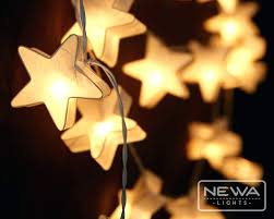 indoor lights strings 20 white star mulberry paper lantern fairy