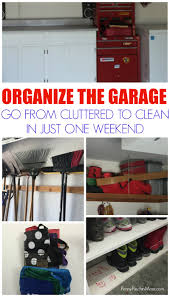 how to organize the garage shelving and storage ideas