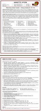 sle resume for teachers sle resume teachers resume pre templates preschool