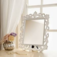 white vanity table with mirror ornate dressing table mirror ornate cheap mirrors