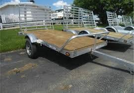 Utility Bed Trailer Car Hauler Stacker Trailer Cargo And Utility Trailers Tilt Bed