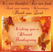 thanksgiving blessing festival collections