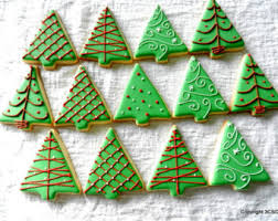 tree cookies etsy