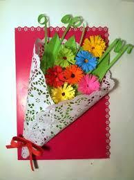 Flowers For Crafts - valentine u0027s day card craft