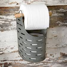 novelty toilet paper holder olive bucket toilet paper holder by ctw home collection the