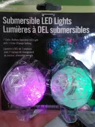 submersible led lights for centerpieces or whatever 5 for 2