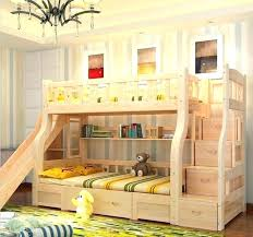 Princess Bunk Bed With Slide Futon Boys Bunk Bed With Slide Bunk Beds With Slide And Wall
