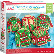 sweater cookie kit crafty cooking kits