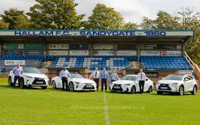 lexus uk service sheffield on board as new sponsors