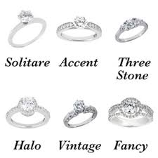 wedding band types types of wedding ring settings jewelery inspiration and ideas