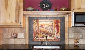 kitchen mural backsplash mexican tile murals chili pepper kitchen backsplash mural