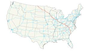 Usa Highway Map U S Route 52 Wikipedia