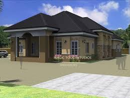 collection four bedroom bungalow house plans photos best image