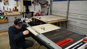 table saw router table making a table saw extension wing for a router lift jays custom