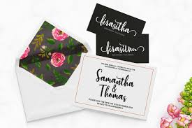 wedding planner business card stephanie script by typehill thehungryjpeg com