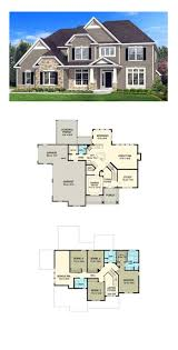 traditional 2 story house plans bedroom story floor plan top fourome plans canada escortsea