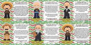 imagenes de la revolucion mexicana en preescolar excelentes biografías de los personajes de la revolución mexicana
