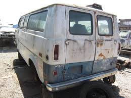 junkyard find 1970 ford econoline van the truth about cars