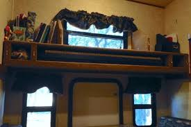 Bunk Beds Storage Switch An Rv Bunk Bed Into A Storage Shelf For Almost Anything