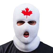 stompdown ski mask white u2014 bombing science