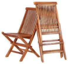 teak folding chair special price combo set of 2 per box