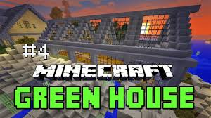 minecraft tutorial how to build a greenhouse farm house building