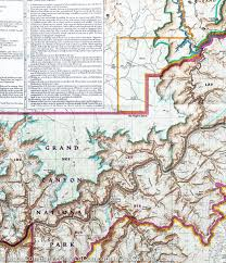 Grand Canyon Maps Trails Map Of Grand Canyon National Park Grand Canyon West