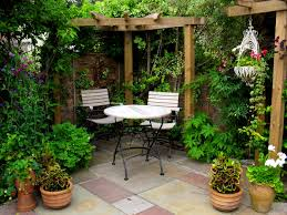 furniture stunning courtyard ideas design media photos small