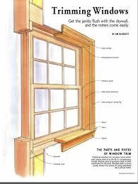 Interior Window Trims Best 25 Interior Window Trim Ideas On Pinterest Window Casing