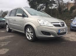 used vauxhall zafira diesel for sale motors co uk