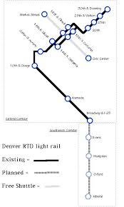 denver light rail expansion map metro transit maps
