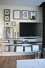 Tv Wall Shelves by Our Somewhat Ikea U201chacked U201d Entertainment Center And An Honest Ikea