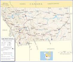 Map Of Montana State by Montana Map Montana State Map Montana Road Map Map Of Montana