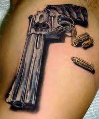 pistol and revolver tattoo designs tatring