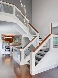 Glass Stair Rail by 100 Stair Rail Ideas Unique Stair Railing Ideas Stair