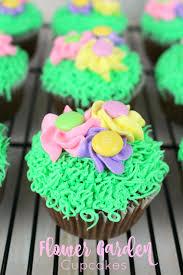 flower garden cupcakes delightful e made