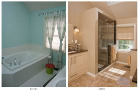 astounding master bathroom remodels before and after with fair enchanting ideas from master bathroom remodels before and after redecorate home