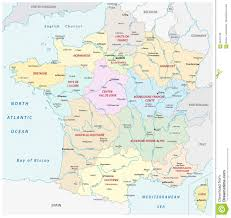 New France Map france map with the new regions and the most important cities and