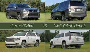 cadillac escalade vs yukon denali lexus gx460 vs gmc yukon denali top speed