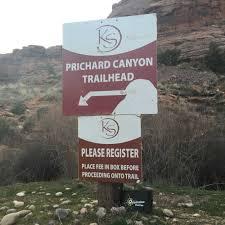 jeep trail sign 50th easter jeep safari pritchett canyon trail ride quadratec