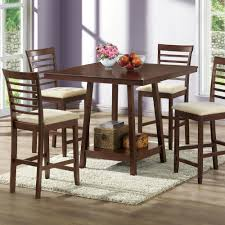 dorel black coffee faux marble top dining room set 5 piece