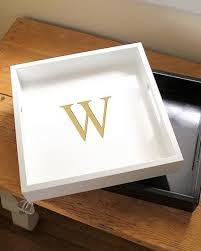 monogramed tray 237 best trays personalize it images on home