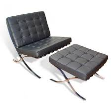 The Barcelona Chair Barcelona Chair And Ottoman By Ludwig Mies Van Der Rohe