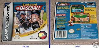 Play Backyard Baseball 2003 Backyard Baseball Nintendo Game Boy Advance 2002 Ebay