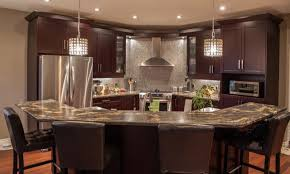 2 Tier Kitchen Island Kitchen Angled Island Ideas Designs Dimensions Eiforces