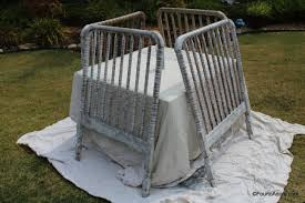 Jenny Lind Crib Mattress Size by How To Convert A Jenny Lind Crib Into A Twin Headboard U2013 Four To Adore