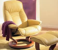 Chair With Matching Ottoman Stressless Senator Governor Recliner With Matching Ottoman