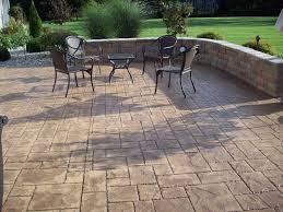 easy backyard concrete patio with additional interior design ideas