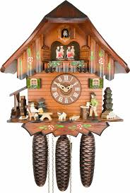 Clock Shop Cuckoo Clock 8 Day Movement Chalet Style 32cm By Anton Schneider